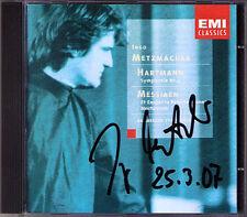 Ingo Metz realizzatori firmato n.d. Hartmann Symphony No. 4 Messiaen Et exspecto CD EMI