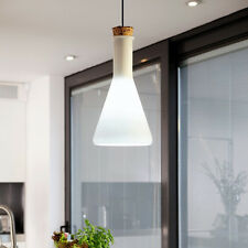 Modern Crystal Ceiling Light Pendant Lamp Fixture Lighting Chandelier milk bulb