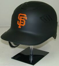 New MATTE BLACK SAN FRANCISCO GIANTS Lefty Full Size Batting Helmet