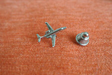 18401 PIN'S PINS AVION AIRLINE JOHNSON'S AIRPLANE AIRFLIGHT SILVER ARGENT