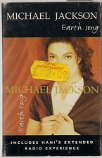 Michael Jackson Earth Song UK Cassette Single / Cassingle