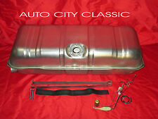 "1961 1962 1963 1964 CHEVROLET CHEVY GAS FUEL TANK, 3/8"" SENDING UNIT & STRAP KIT"