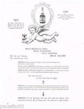 PUBLICITE ADVERTISING 105  1956  le cognac ROYER & le lait SIBONCO