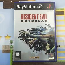 RESIDENT EVIL OUTBREAK - SONY PLAYSTATION 2 PSTWO PS2 GAME - MINT