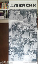 "Eddy Merckx Cloth Banner 80"" x 32"" huge Vintage Tour De France world champ NOS"