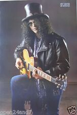 "SLASH ""SITTING WITH GUITAR & TOPHAT"" POSTER FROM ASIA - Guns N' Roses Guitarist"