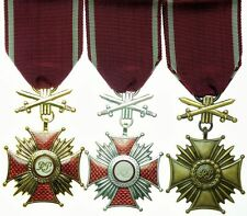 Polish Cross of Merit with Swords