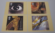 2000 Millennium Projects Sound & Vision PHQ 226 - Mint PHQ Cards - Set of 4