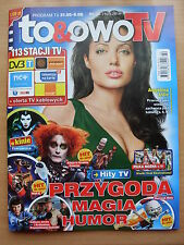 To & Owo TV 22/2014 ANGELINA JOLIE on front cover in. Salma Hayek