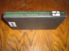 Ethics and Profit by David Vogel and Leonard Silk (1976, Hardcover)