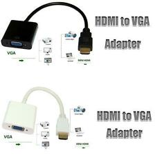 HDMI to VGA Converter Adapter Cable - The simplest converter - No power needed