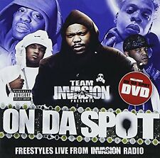 Team Invasion - On Da Spot / Freestyles Live From Invasion Radio /CD+DVD/NEU&OVP