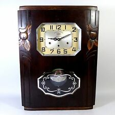 JURA Art Deco Regulator Westminster + Ave Maria Wanduhr clock wie Odo 36, 24,- 7