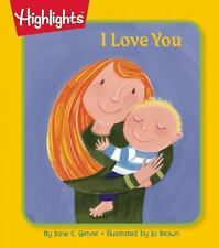 I Love You by Jane E. Gerver (2015, Board Book)