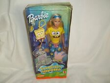 Nickelodeon 2002 SpongeBob Squarepants Barbie #B2993 Priced To Sell.