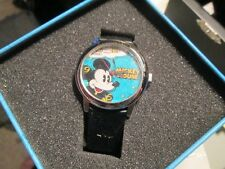 Mickey Mouse Collectible timepiece 75 years of fun in collector tin New