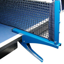 Ping Pong Table Tennis Net Clamp Post Stand Set Replacement Mesh Standard Blue