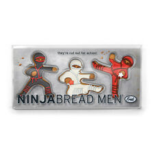NinjaBread Men - Fred & Friends Gingerbread Cookie Cutters
