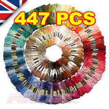 447 x CROSS STITCH COTTON SEWING SKEINS EMBROIDERY THREAD FLOSS KIT (FULL SET)