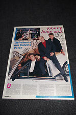 JOHNNY HATES JAZZ signed Autogramm auf 20x28cm Zeitungsfoto InPerson Berlin LOOK
