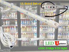 4ft cooler fridge LED light for walk in cooler with UL waterproof power x3DC