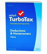 TurboTax Deluxe 2014 Federal Returns & Federal E-File (State NOT Included)