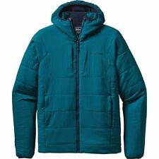 Brand New Patagonia Nano-Air Insulated Hooded Jacket Men's Size XL Deep Sea Blue