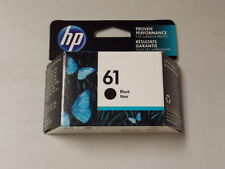HP #61 CH561WN Genuine Black Ink Cartridge New Sealed Retail Box June 2018