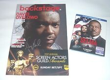 SELMA MOVIE SIGNED MAGAZINE DAVID OYELOWO AVA DUVERNAY BLU-RAY DVD DIGITAL HD