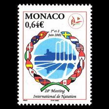 Monaco 2002 - International Swimming Camp Flags Sports - Sc 2251 MNH