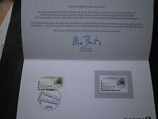 Philatelistisches Dankeschön der Post, Tag der Briefmarke 2012