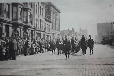 13 FOTO FOTOGRAFIE-World War I-US Soldati Milwaukee 1916-RARO