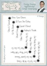 Phill Martin INSPIRATIONAL SENTIMENTS CORNERS A5 Clear Stamp Set