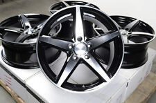 "17"" Effect Wheels Rims Mercedes 5x112 S350 S430 S500 S600 Audi ML320 ML350 A3 A4"