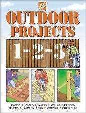 Outdoor Projects 1-2-3 by Home Depot Books Staff (1998, Hardcover)