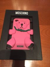 Moschino Cover iPhone 4 4s Nuova Con Scatola