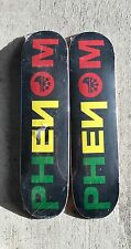 "Lot of 2: BARGAIN skateboard deck 7.75"" great deal quality PHENOM"