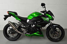 Kawasaki Z300 Demon Slash Polished Stainless Round XLS Exhaust