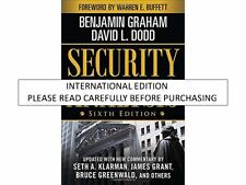 Security Analysis by Benjamin Graham, David Dodd and Seth A. Klarman