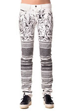 DIESEL BLACK GOLD Size 28 Women's PETRAH Treated Printed Jeans - From POPPRI
