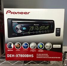 NEW Pioneer DEHX7800BHS CD Receiver with Built in Bluetooth & HD Radio LOW  $