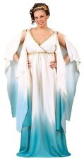 Cleopatra Roman Greek Goddess Costume Dress Adult Sexy Toga Plus XL 16-24 - Fast