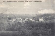 École d`Agriculture de Grangeneuve FRIBOURG Suisse 1913 Carte Postale P Savigny