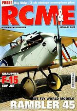 RCM&E Radio Controlled Model Electronic Magazine Jan 2009