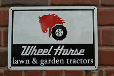 Wheel Horse Garden & Lawn Tractors Garage Mechanic Logo Sign Advertising