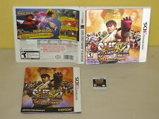 SUPER STREET FIGHTER IV - 3D Edition - NINTENDO 3DS - Lenticular Cover - DS