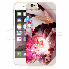 Bloody Anime Tokyo Ghoul Phone Clear Case Cover For iPhone 4 5 SE 6 & Samsung S6