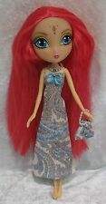 Handmade Clothes for LA DEE DA Dolls ~#06 Dress, Purse & Beaded Necklace Set