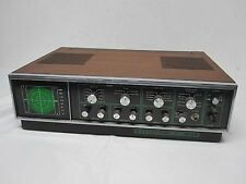 HEATHKIT AD-1013 AUDIO SCOPE W/ ORIGINAL CABINET