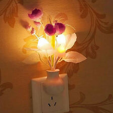Convenient LED Night Light Soft Romantic Sensor Baby Bed Room Lamp Home Decor